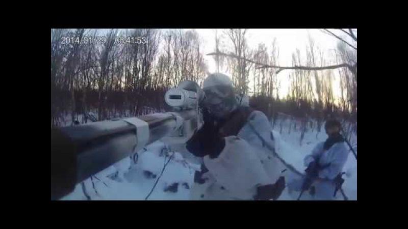 Sniper AirSoft Russia Новогодняя тренировка) Amoeba Striker