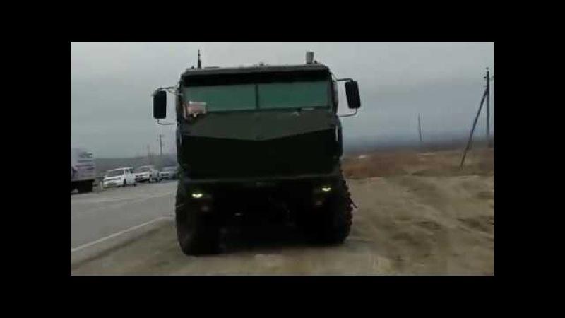 КАМАЗ-63968 «Тайфун-К» — универсальный бронированный автомобиль