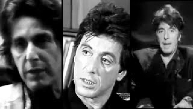 Some Vintage Al Pacino Interviews From The 80s and 90s, talks Heat, Sea of Love
