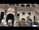 Roma - All'interno del Colosseo