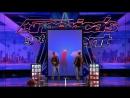 Братья-близнецы из Франции удивили публику на Шоу Талантов