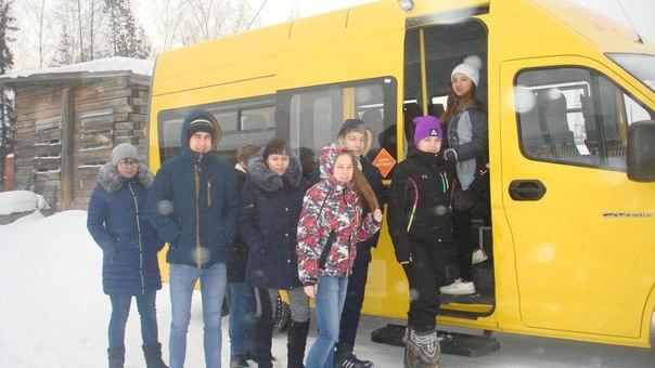 Поселковая школа в Ершово получила новый школьный автобус