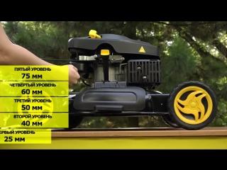 Электромир Гарантия качества Обзор бензиновой газонокосилки HUTER GLM-4.0 G
