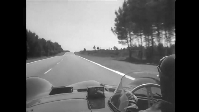 On Board with Mike Hawthorne at LeMans 1956 D-type Jaguar