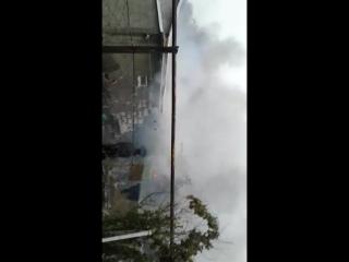 Пожар в Хромтау 1