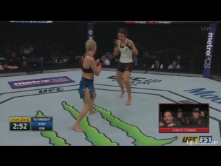 Kish vs Kim  UFC on FOX 27