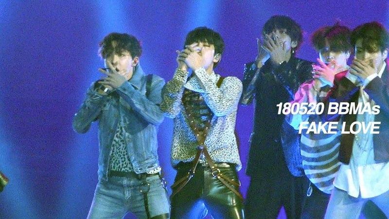 180520 Billboard Music Awards BTS - FAKE LOVE (JIN FOCUS JIN FANCAM 석진 직캠)