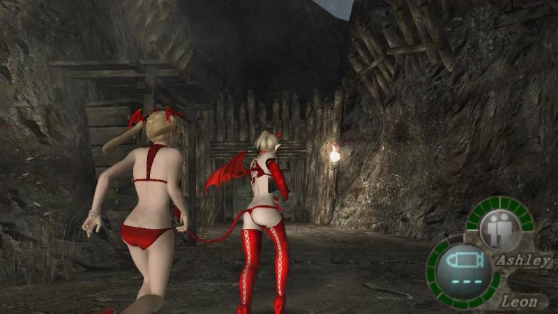 Resident evil 4 Секси Дьяволицы! Часть 2