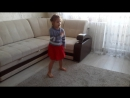 Лиза, 4,5 года. группа Зефирки. Танец Звезда