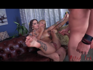 [clips4sale] lady fyre, sammie six - oiled ink