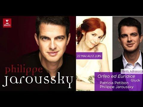 Philippe Jaroussky Orphée Eurydice 22 05 au 02 06 18 Théâtre Champs Élysées interview 7 mn