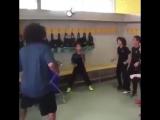 Марсело повторил Bin-челлендж с одноклубниками сына