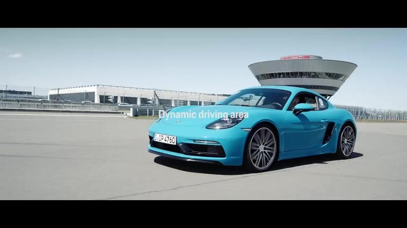 Porsche Experience video series (2 of 3)_ Steve Booker tests the Porsche Track E