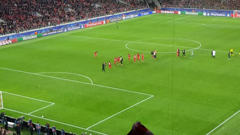 Конец матча Спартак-Севилья 5-1