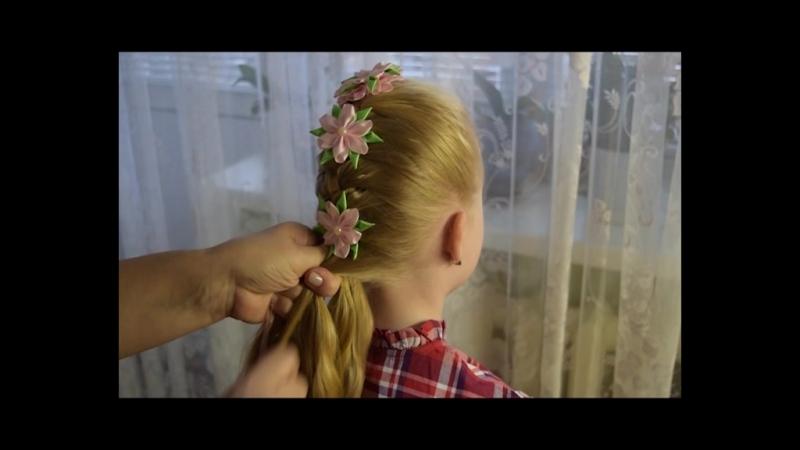Лента в косу