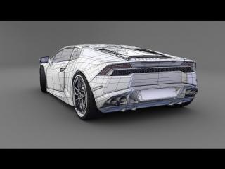#24 SolidWorks Tutorial - Model a Lamborghini Aventador - HD