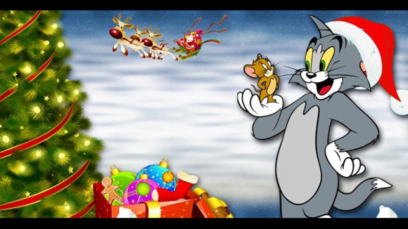 Том и Джерри: Маленькие помощники Санты / Tom and Jerry: Santa's Little Helpers (2014) BDRip 720p [vk.com/Feokino]