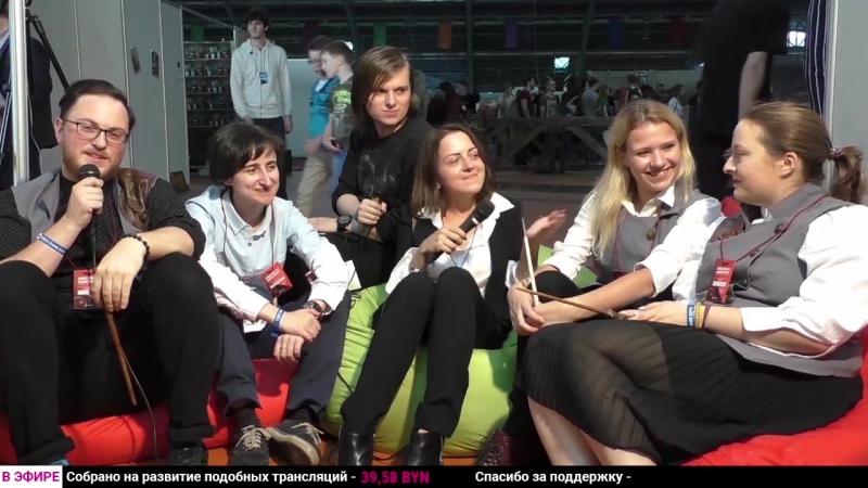 Интервью команды «Магии превыше всего» на фестивале «Юникон»