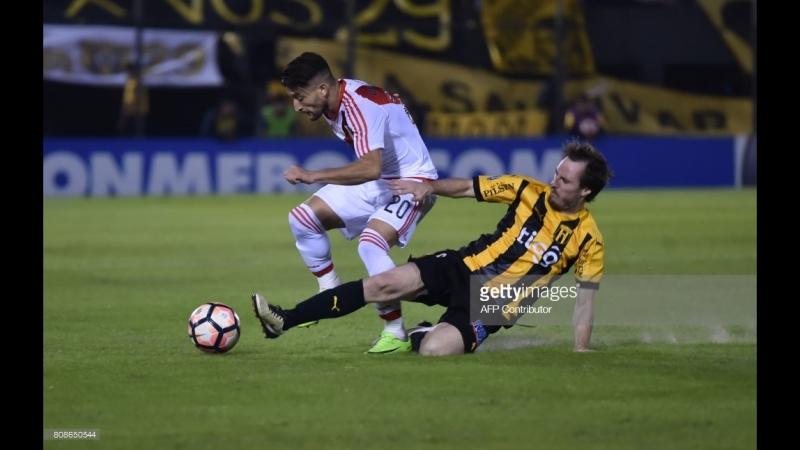 Дві п'ятки і дев'ятка - як забивався гол в чемпіонаті Парагваю