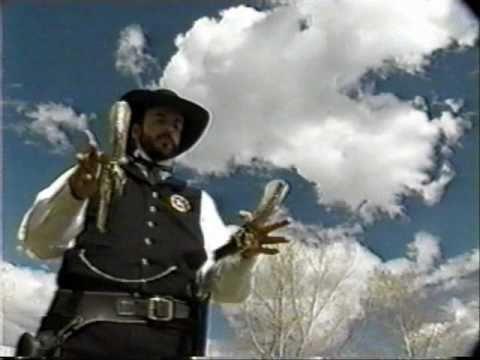 Trick Shooting, Gun Spinning Fast Draw - Howard Darby