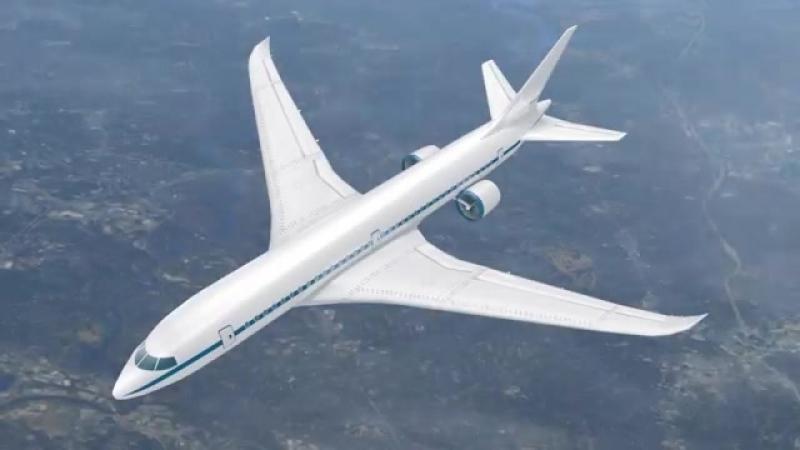 Новая конструкция движителя для гражданской авиации