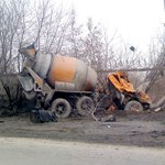 Бетономешалка раздавила легковушку в Москве: в аварии погиб мужчина