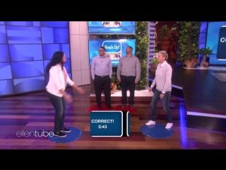 Ellen Plays Heads Up! with Las Vegas Nurse Zully Hernandez RUS SUB