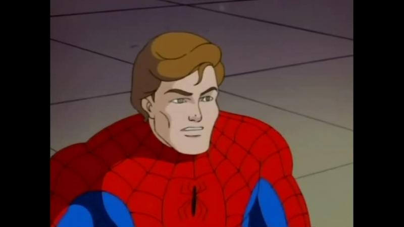 Человек паук 1994 Сезон 5 Серия 13 Паучьи войны 2 Прощай Человек Паук