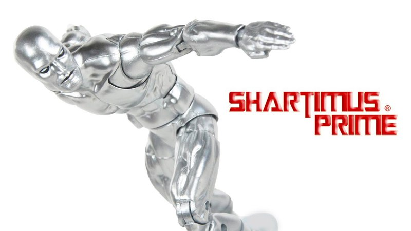 Marvel Legends Silver Surfer 2018 Walgreens Exclusive Comic Action Figure Toy Review