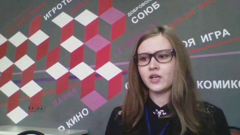 Выступление Н. Мерзляковой Клубное объединение Художественная мастерская в СОЮБ
