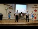 Ассорти младшая группа танец Бескозырка белая