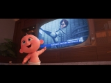 Суперсемейка 2 / The Incredibles 2.Расширенный ТВ-ролик (2018) [1080p]
