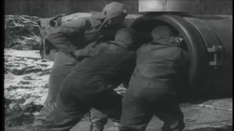 Little David 914mm T21 Mortar Test, 1945 WW2 Video Footage