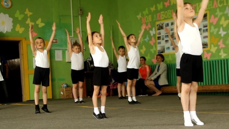 Открытое первенство по спортивной гимнастике среди мальчиков - дошкольников