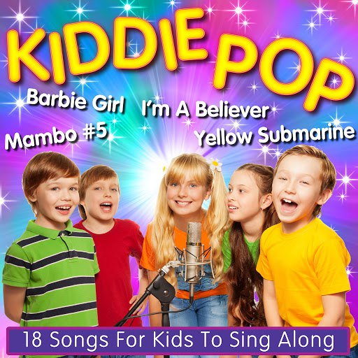1 альбом Kiddie Pop - 18 Songs For Kids To Sing Along To