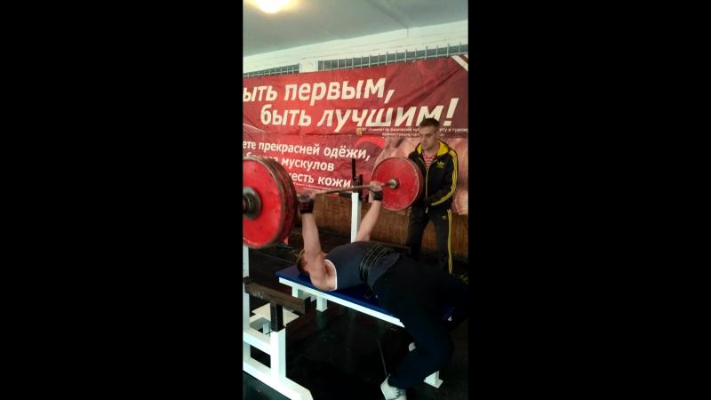 24.09.2017, Алексей Халявин, жим лежа, 107,5кг