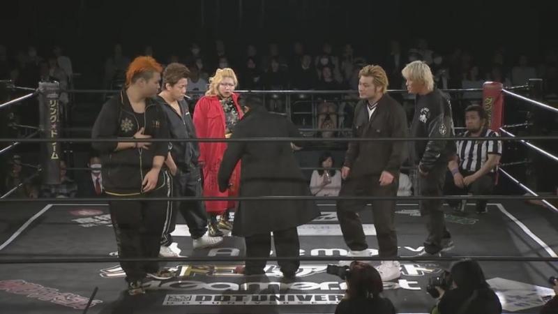 Naomi Yoshimura vs. Nobuhiro Shimatani vs. Ryota Nakatsu vs. YOSHIKO vs. Yukio Sakaguchi vs. Yuko Miyamoto (DDT)