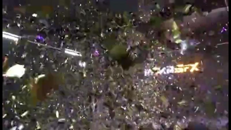 Moka DMX CO2 Confetti 2in1 Blaster action