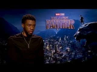 Чедвиг Боузман- Ты как ребёнок, когда играешь супергероя - Чёрная Пантера