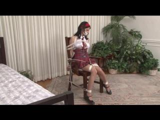 Topless schoolgirl chair-bound - hannah perez