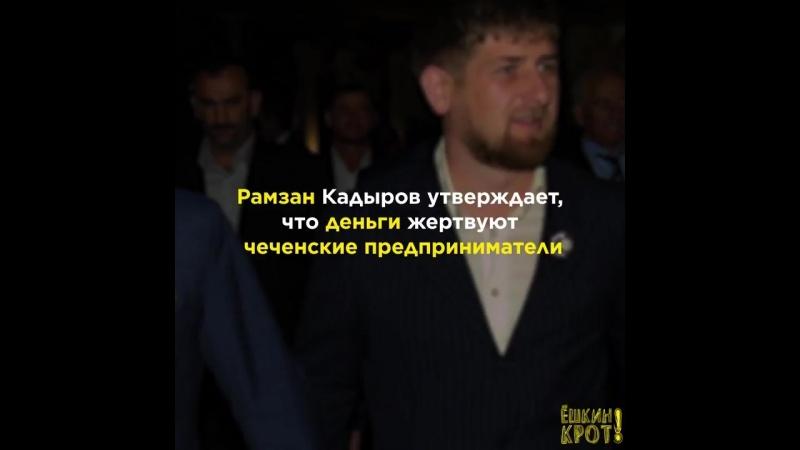 Чечня тратит сотни миллионов на помощь другим странам