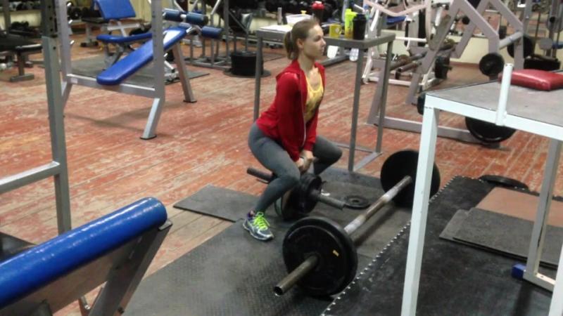 Diana Krahmatova - 50kg EP 2HP attempt and 22,5kg EP 1HP(49kg b.w.)