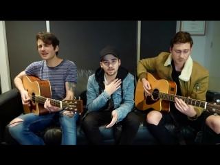 Мэшап-кавер на песни Don't Go Breaking My Heart/I Want It That Way - Backstreet Boys от парней с BTWN US