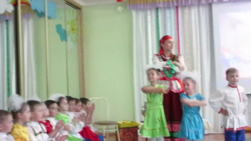 MVI 1501Мастер класс Русский сувенир в 95 детском саду г Омска