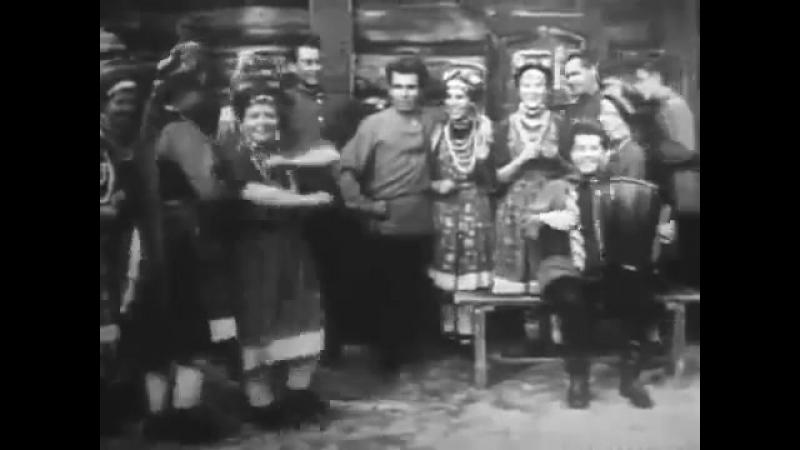 Читинская обл., Красночикойский р-н, с. Малоархангельск. Частушки с пляской. 1970 г.