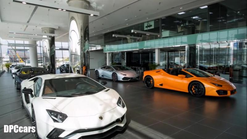 Lamborghini Dubai Has The Worlds Largest Lambo Showroom