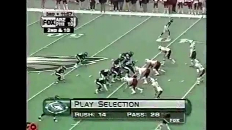 Eagles vs Cardinals 2000