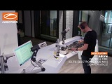 Armin Van Buuren playing 2 tracks from Elite Electronic @ ASOT 855