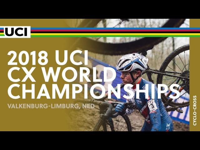 2018 UCI Cyclo cross World Championships Valkenburg Limburg NED Men Juniors