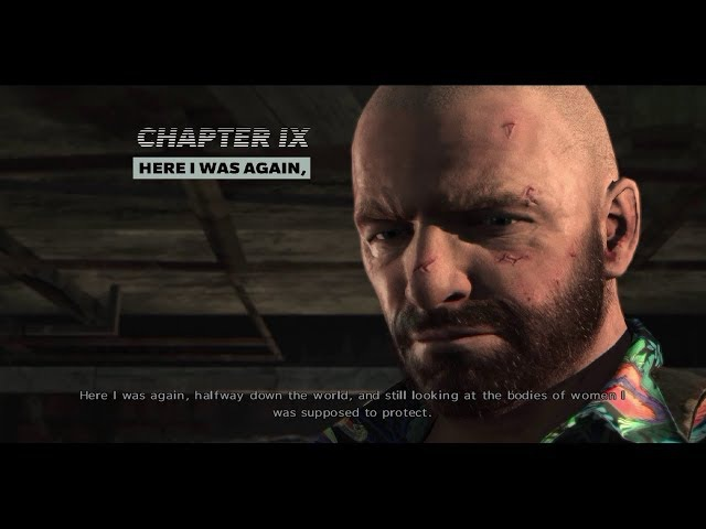 Max Payne 3 - Here I Was Again, Half Way Down The World (Level 9)